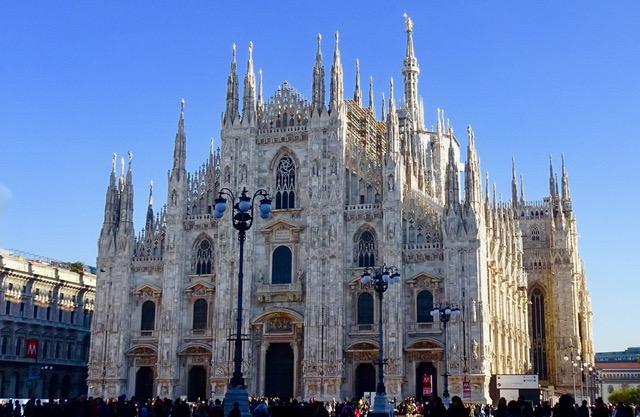 Duomo Cathedral, Milan; celebrating the Feminine, birthing energy of Mary