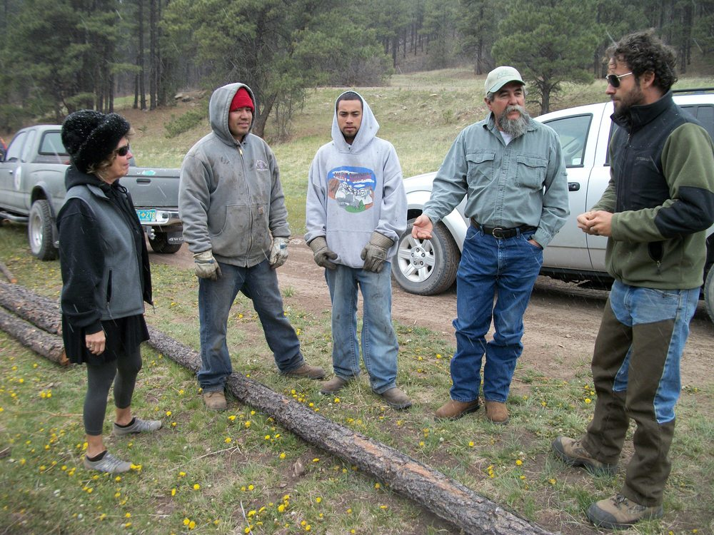 River Restoration - Rio de Las Vacas - Field Discussion.JPG