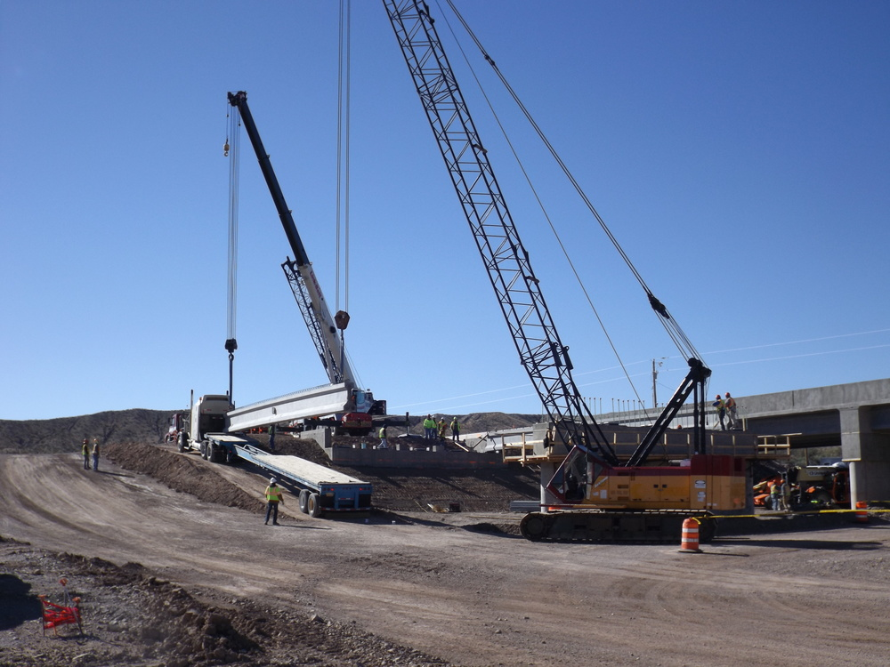 Alamosa Canyon Bridge Construction