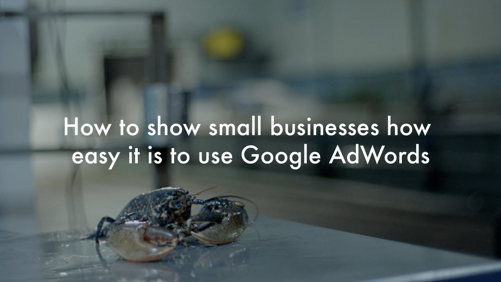 Google AdWords - Berwick Shellfish