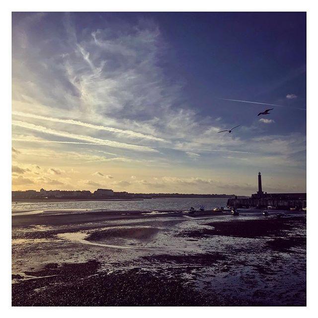 Margate looking 👌last week #Margate #seaside #sea #thanet #coast #tide #kent #water #sunset #seagull #beach #pier