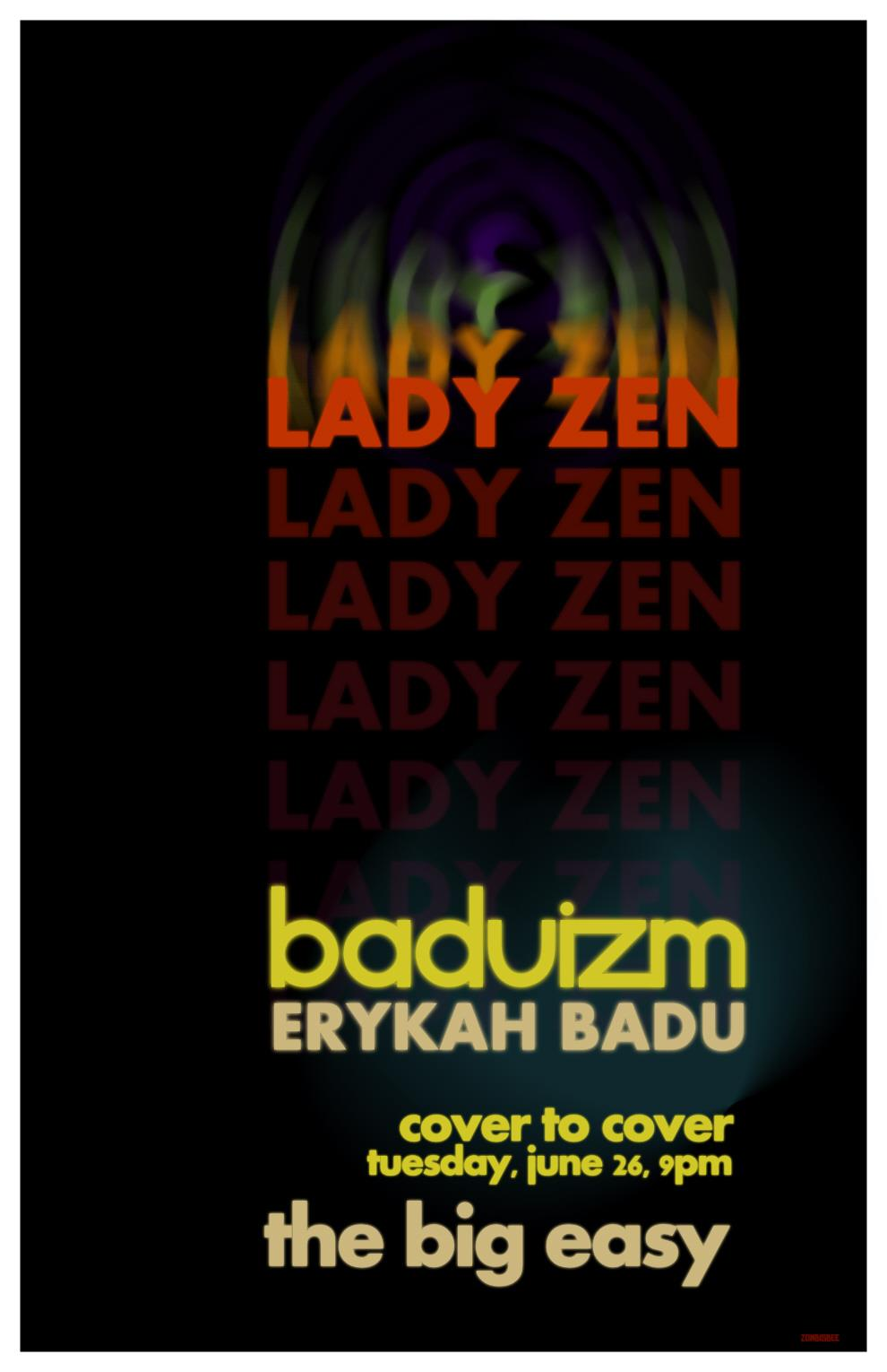Cover to Cover: Lady Zen sings Baduism