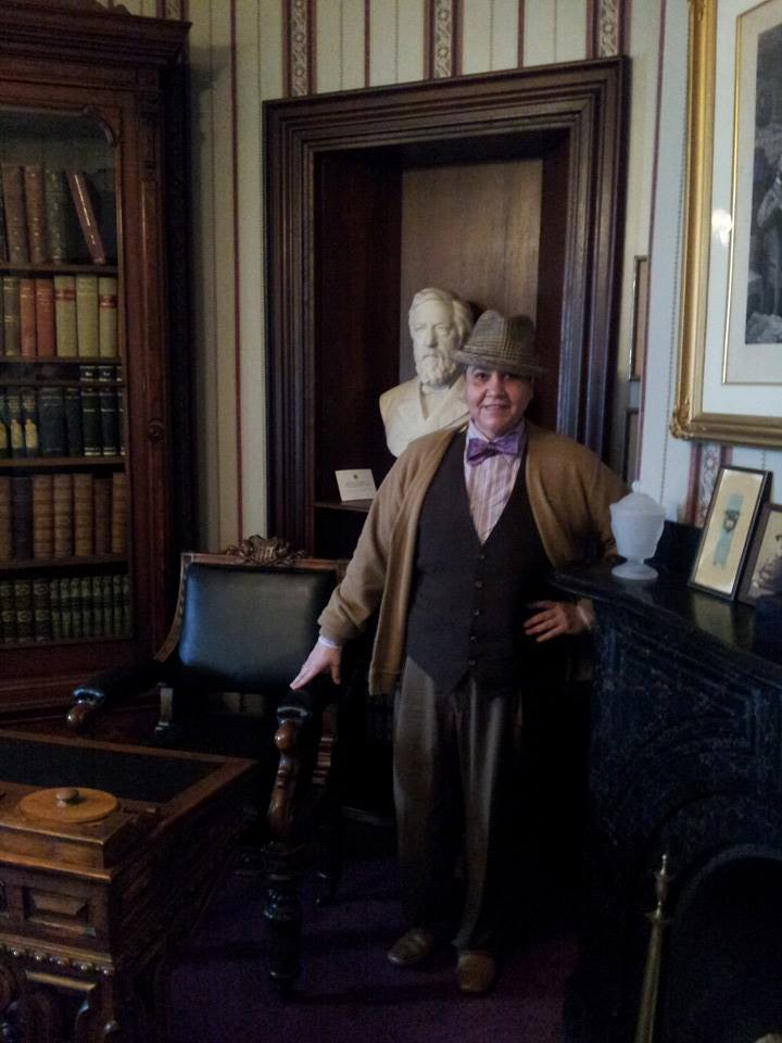 Poet's Day at the Governor's Blaine House