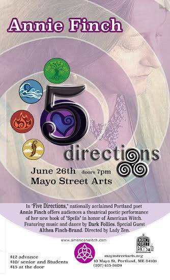 Five Directions by Annie Finch
