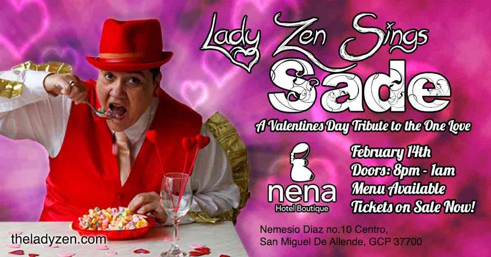 Lady Zen Sings Sade at Hotel Nena