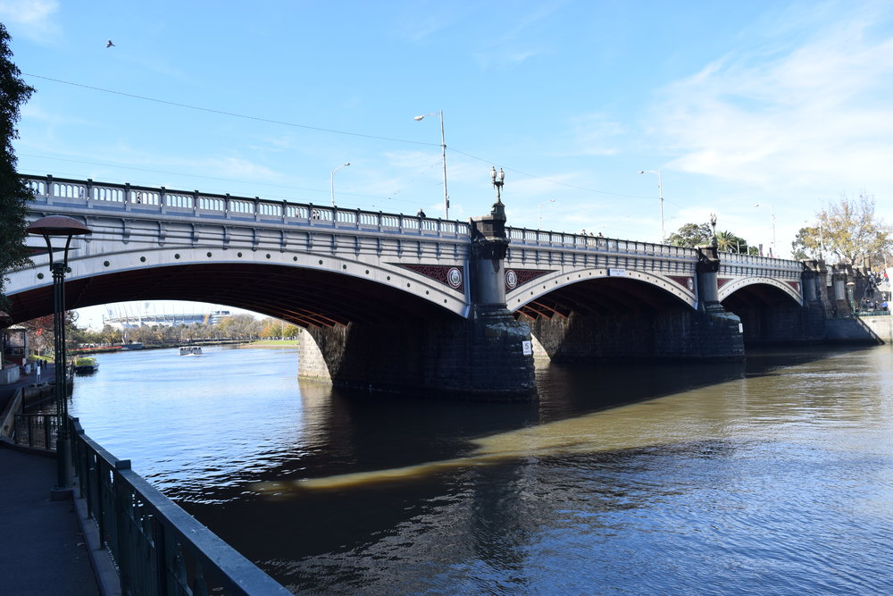 From the Yarra to the Yellowstone
