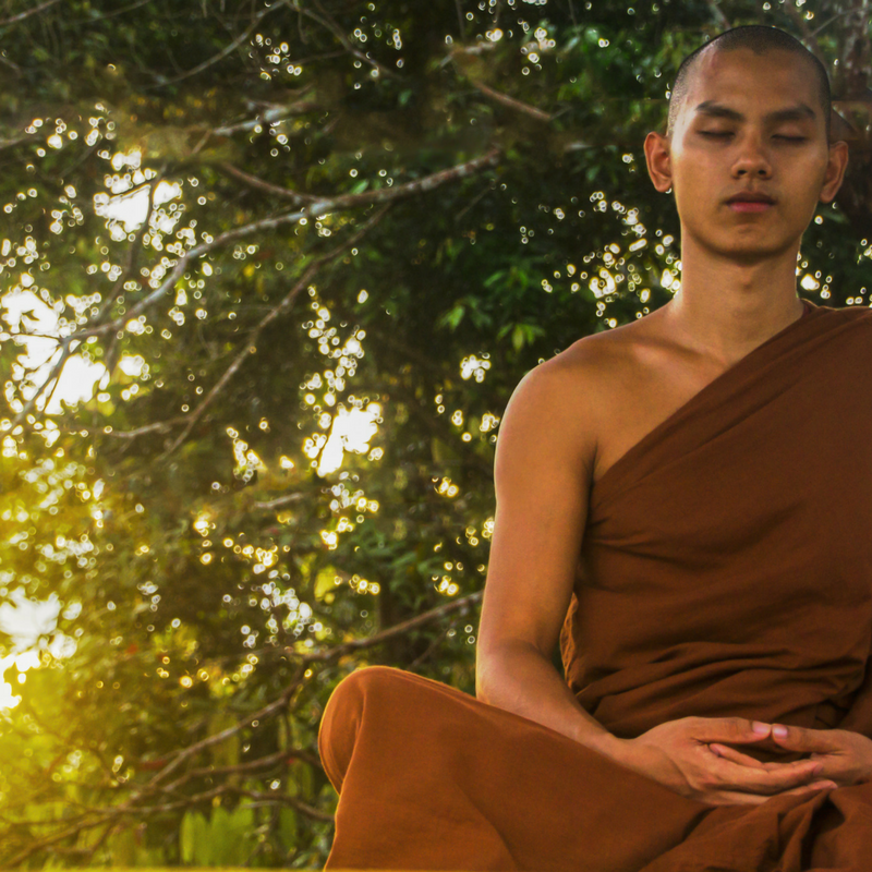 Meditation is good. Answers comes from within. (Robes are not required)