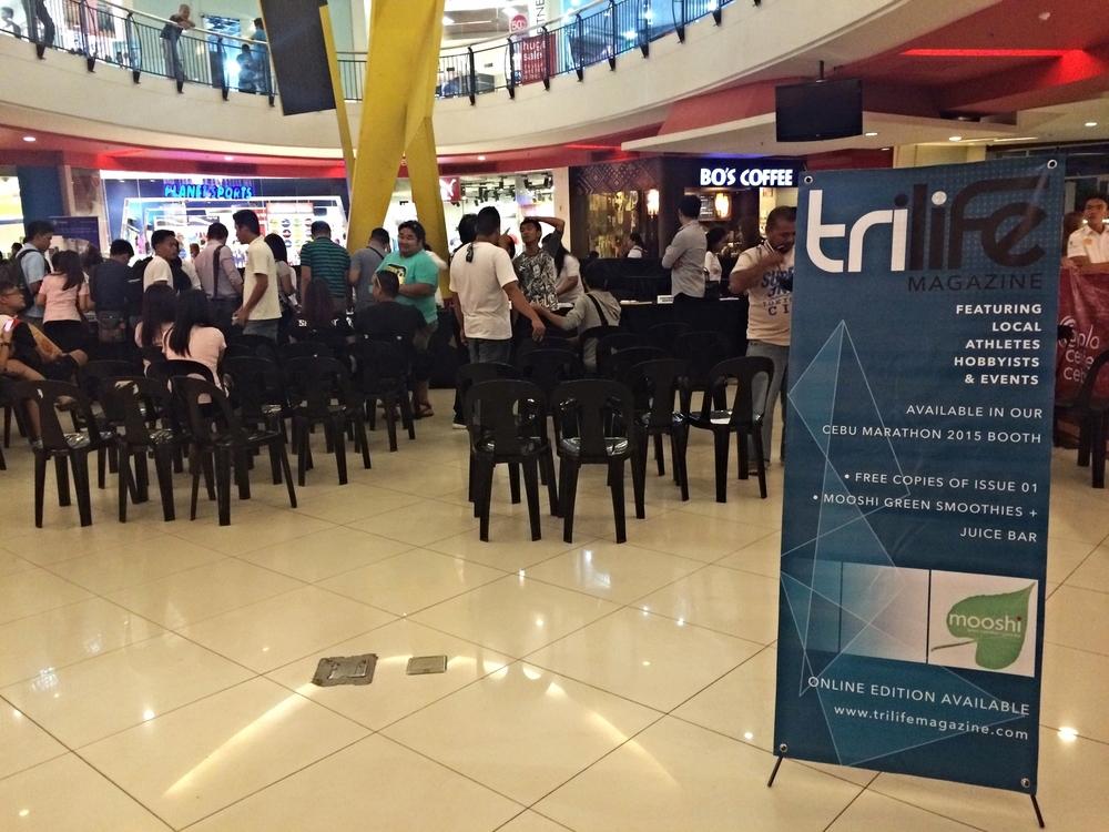 At the Ayala Center Cebu