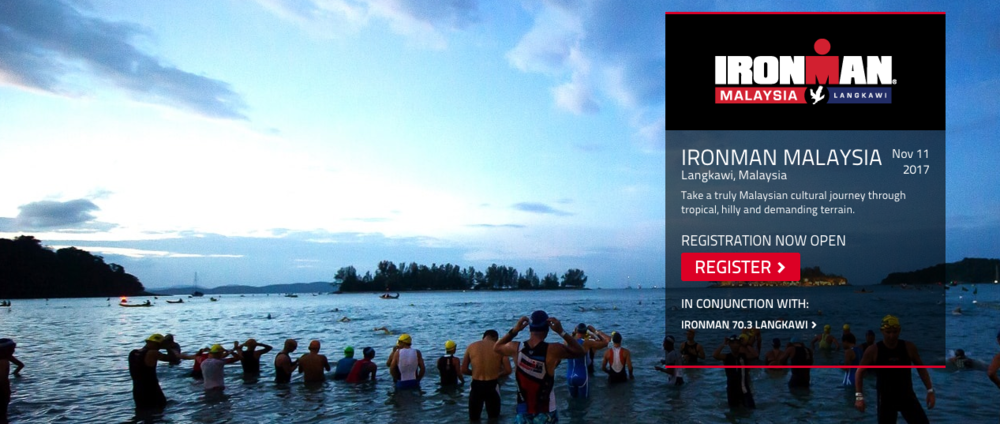 Langkawi Island, the Jewel of Kedah, is set to host IRONMAN Malaysia again in 2017. -