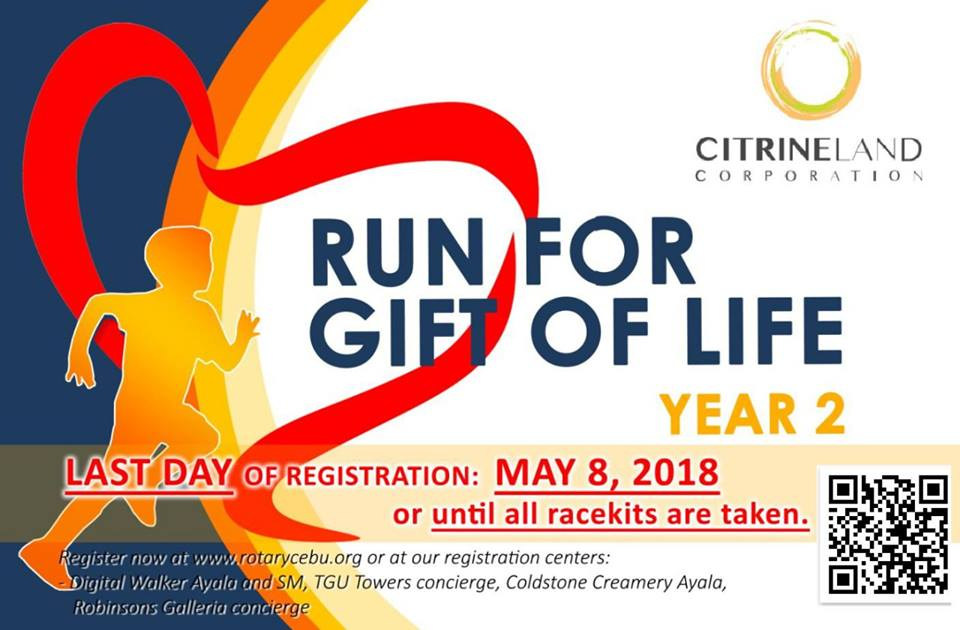 *May 13* Run for Gift of Life [2018] Year 2 — REDROCK LIFE MEDIA VENTURES