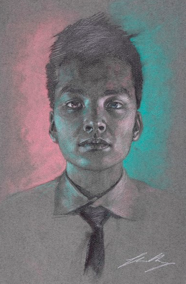 Self Portrait // Shaun Wang '15