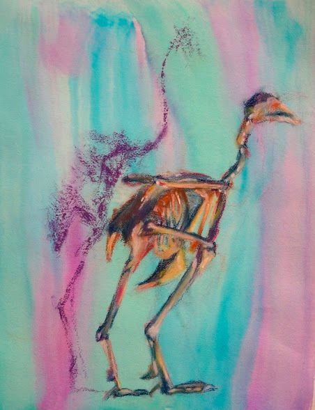Bird in Pastel // Lucy Lytle '15