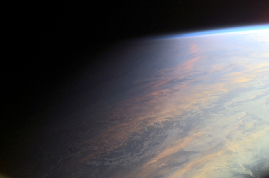 Earth at Twilight | Image Credit:  ISS Expedition 2 Crew ,  Gateway to Astronaut Photography of Earth ,  NASA