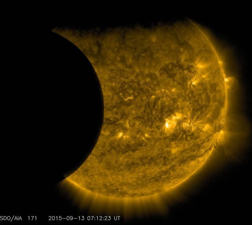 Super Moon Solar Eclipse in Virgo