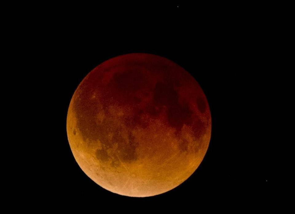 Super Moon Lunar Eclipse - First of Tetrad