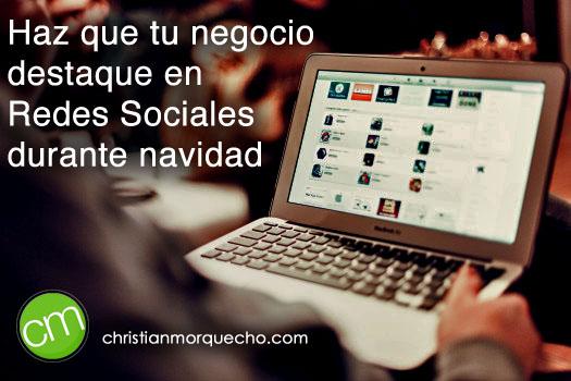 img - Haz que tu negocio destaque en Redes Sociales durante navidad