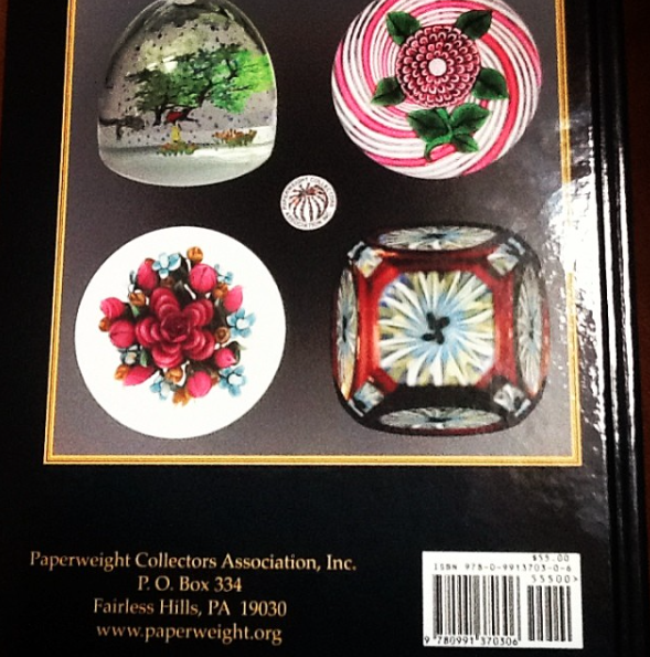 2015 Paperweight Collector's Association Bulletin, Back Cover