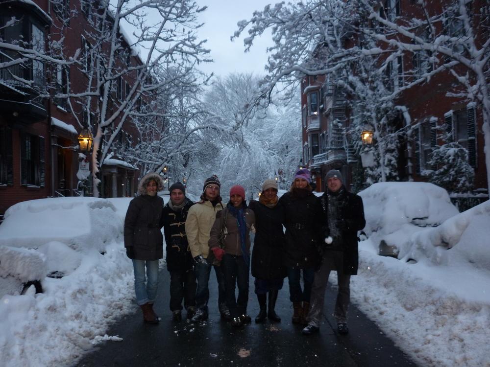 Lab snow-day