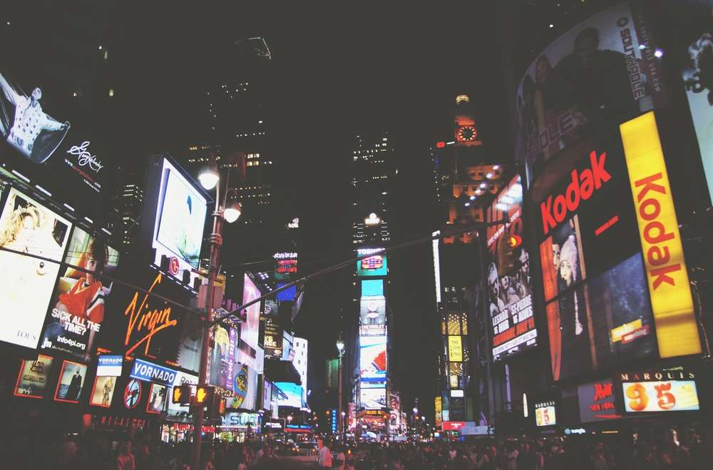 Times Square, New York City, United States by Wojtek Witkowski