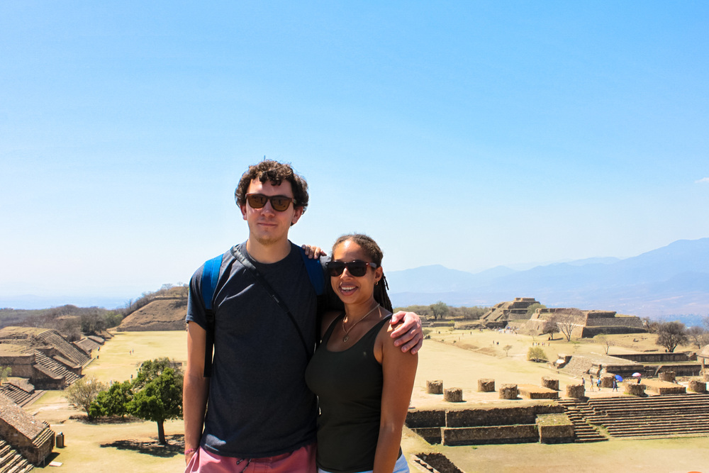 shot of plaza in monte alban oaxaca - Things to do in Oaxaca