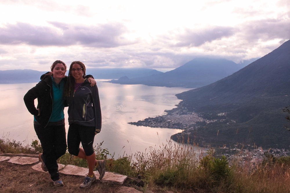 Indian's Nose Hike - Lake Atitlan