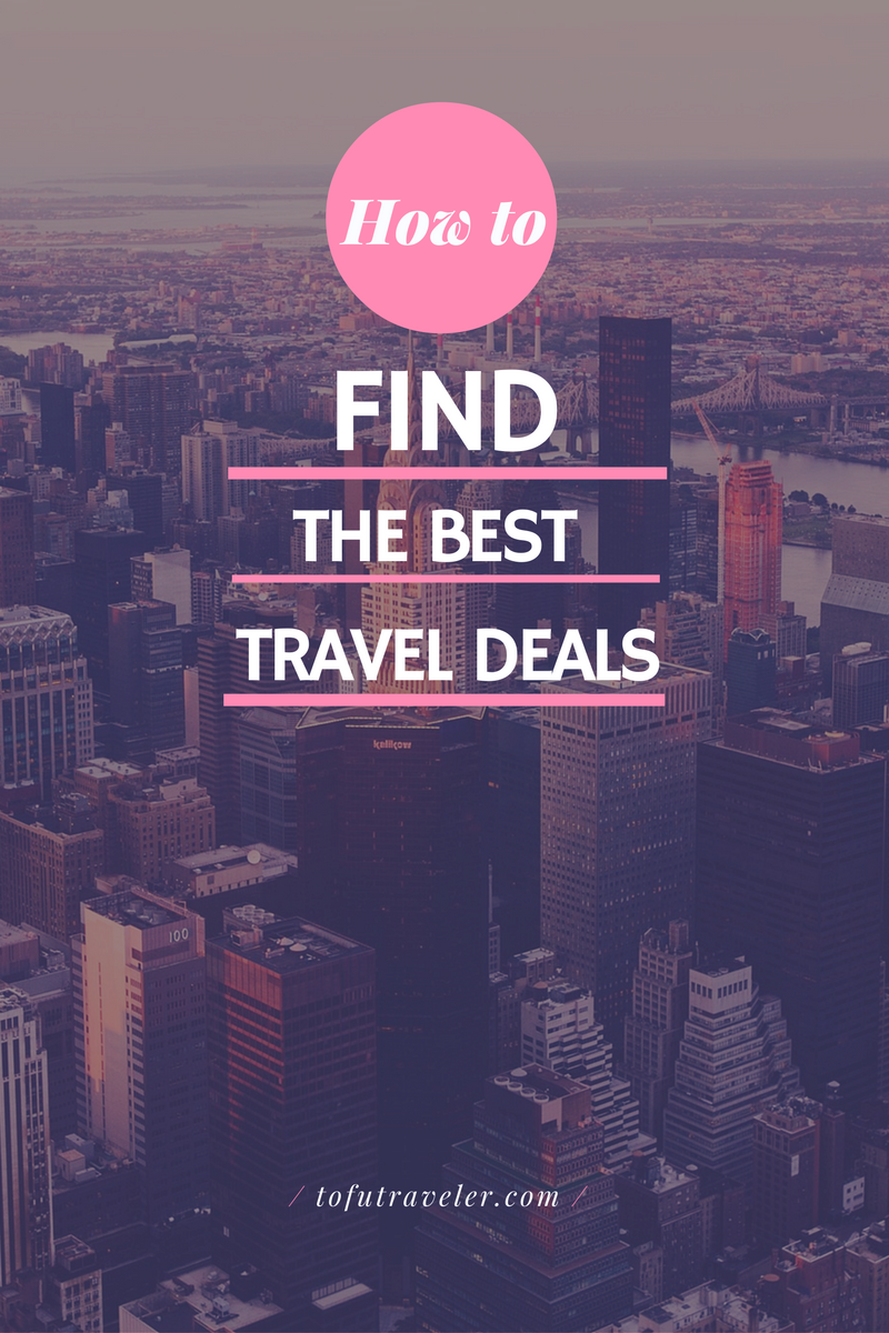 Sometimes a holiday can be a carefully planned affair and sometimes if you let it, you can have a Spontaneous Travel Experience. Luckily for everyone, there is a travel deal out there no matter your preference!  I've compiled below a full list of all my travel deal resources that I refer to no matter what type of trip I'm planning and there are a couple of luxury options in there as well!