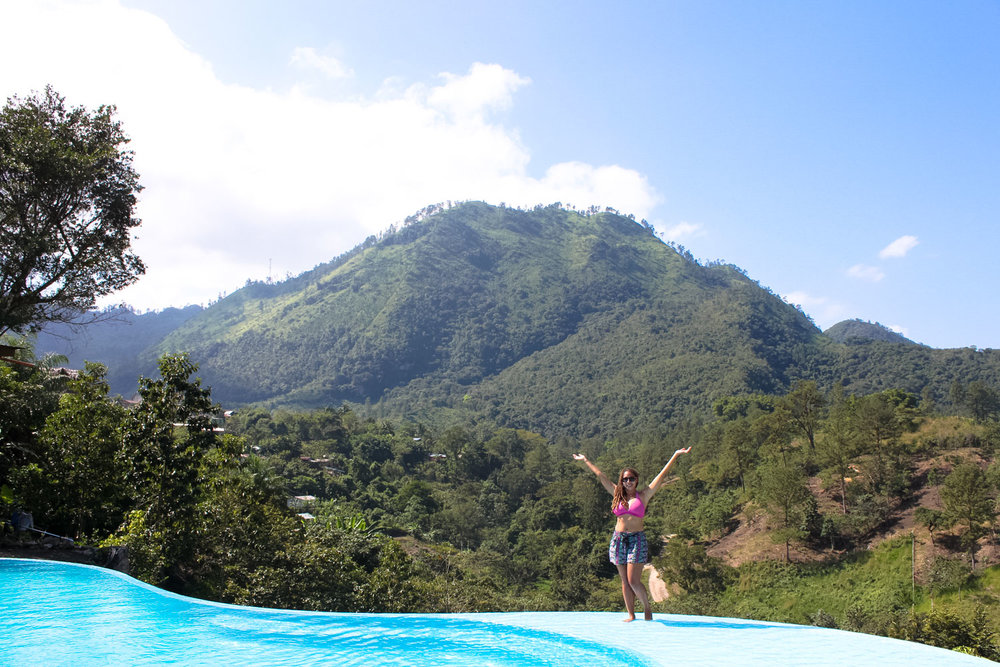 Zephyr Lodge, Lanquin, Infinity Pool