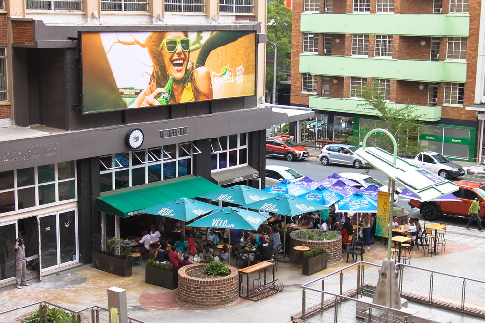 Review: Once in Joburg - Balcony View