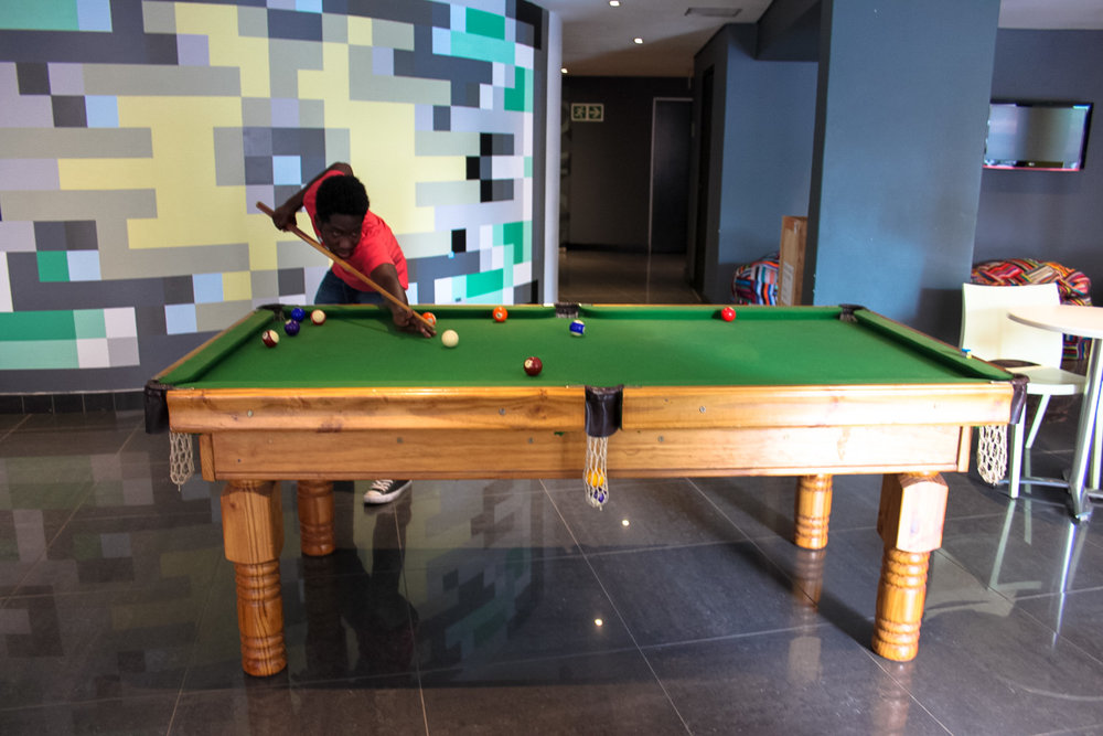 Review: Once in Joburg - Common Area Pool Table