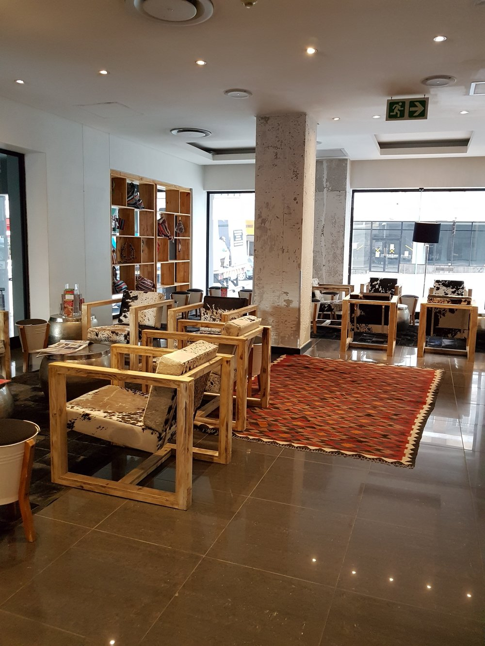 Review: Once in Joburg - Reception