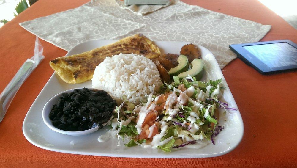 Vegetarian food Nicaragua