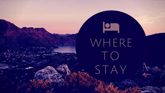 Cape Town - Where to Stay