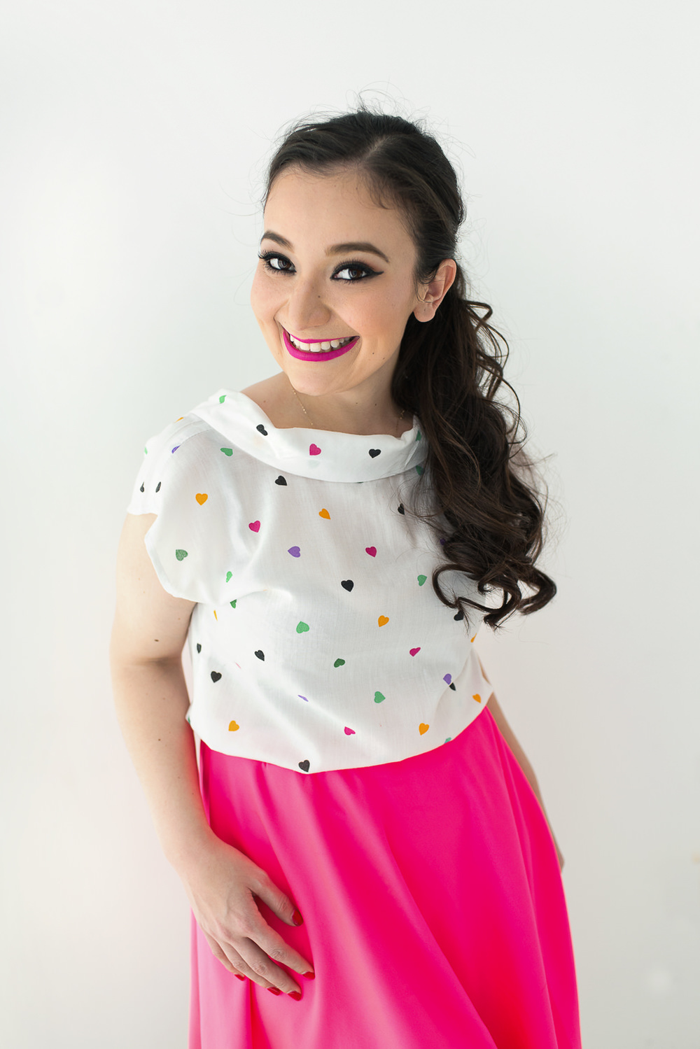 Sesion-fotos-mexicali-retrato-Glenda-Campos-pink-skirt
