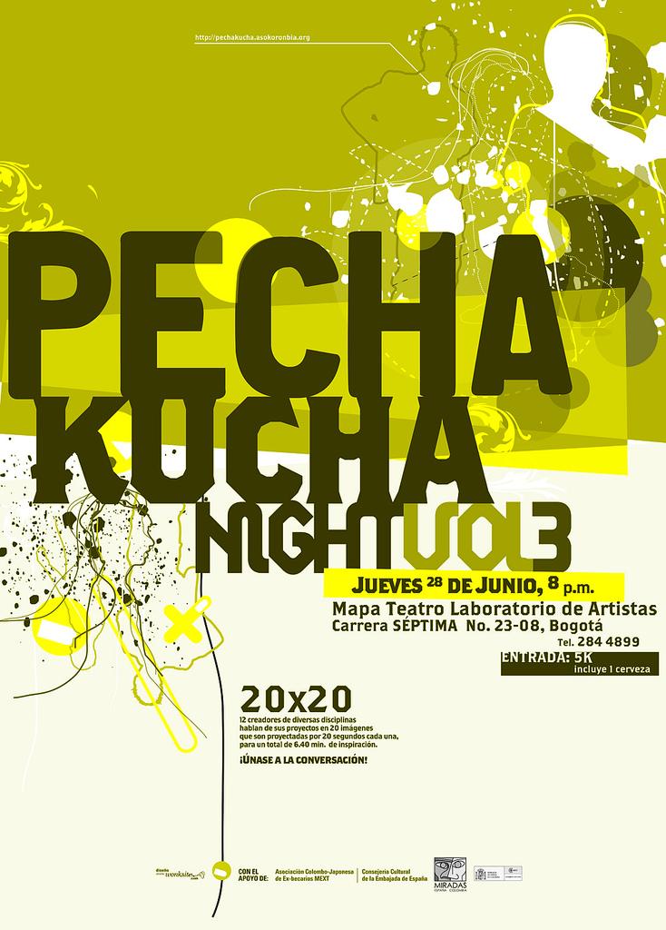Vol. 3 en Mapa Teatro. Diseño de Jorge Restrepo. Documentación completa y créditos en el blog local .