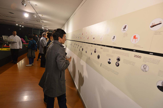 Diseño de montaje, museografía e infografía.