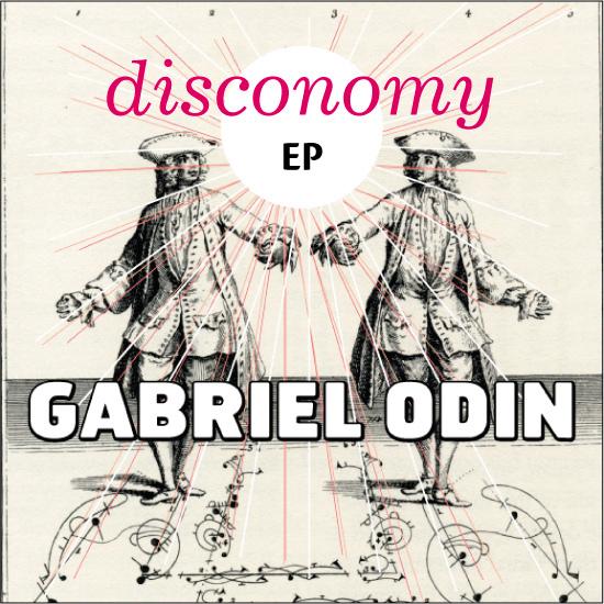 Disconomy EP -Carátula de disco.