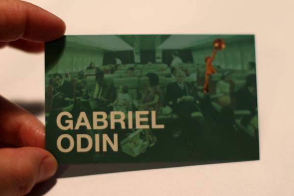 Tarjeta de Gabriel Odín.