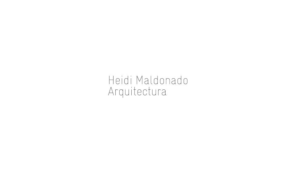 Estudio de arquitectura Heidi Maldonado