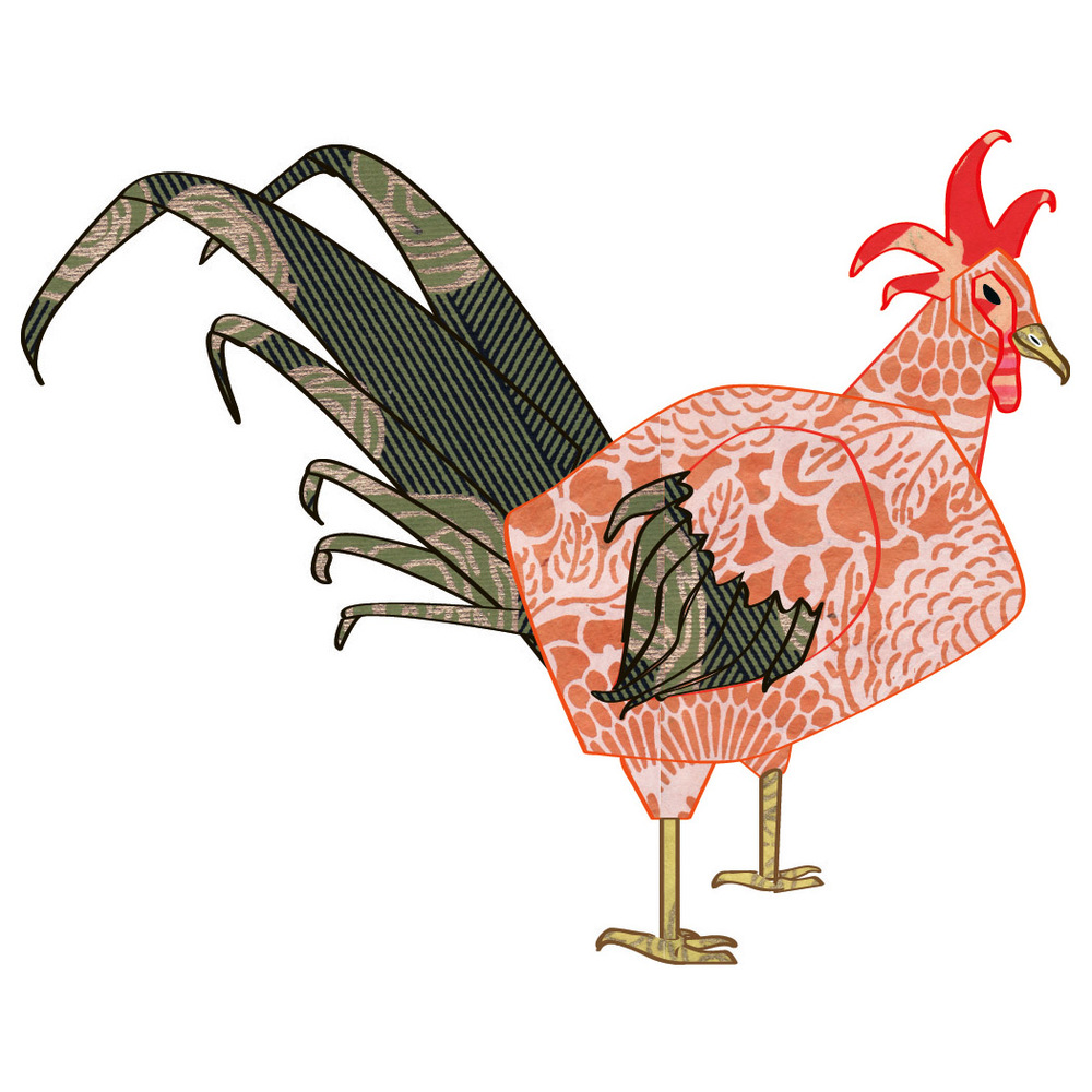 concept art for the rooster