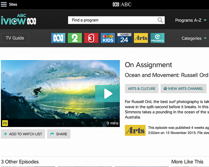 ABC On Assignment (Australia Only)