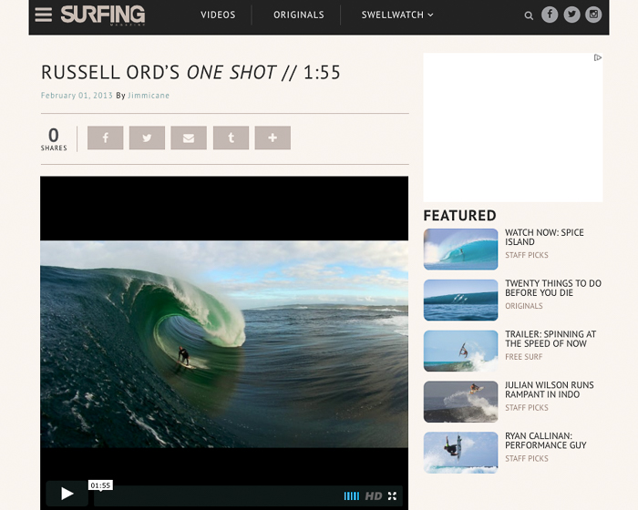 Surfing Magazine - One Shot