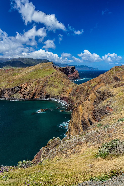Madeira view from Ponta de São Lourenço