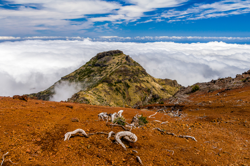 View East from Pico Ruivo, Madeira