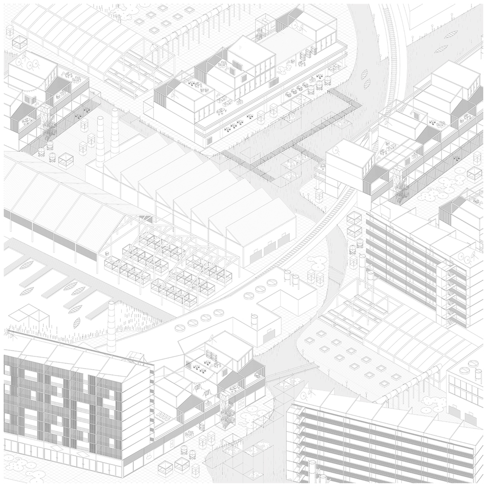 Site Three: Axonometric