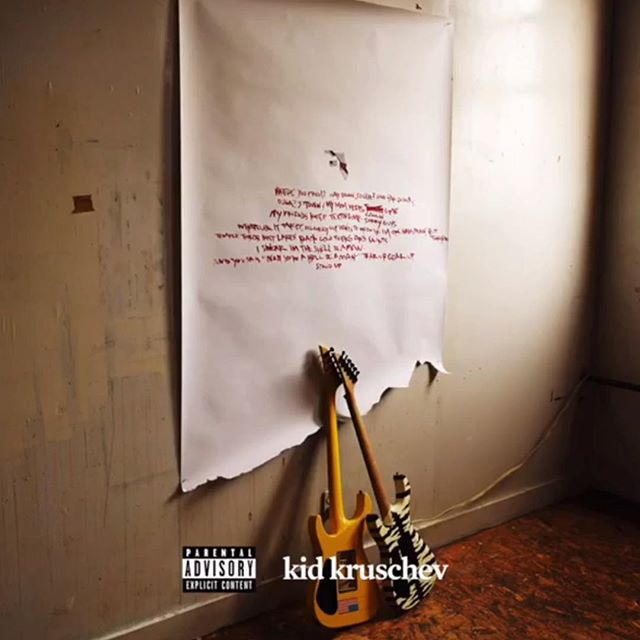 """⚡️ """"and saints"""" of the new mini album """"kid kruschev' is out now! @sleighbells"""