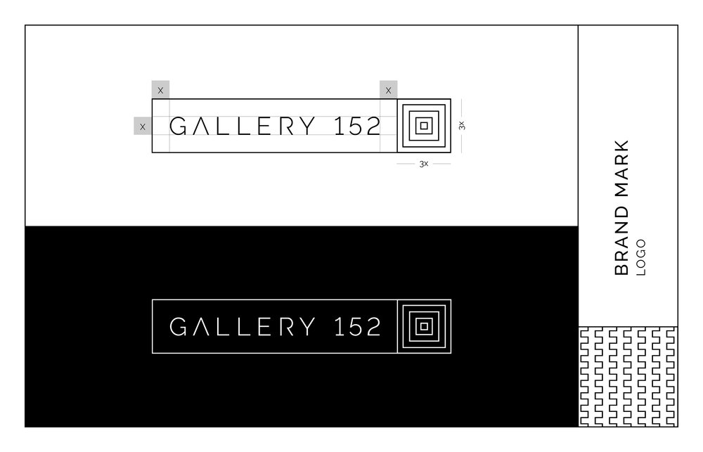 Gallery 152 Logo Lockup