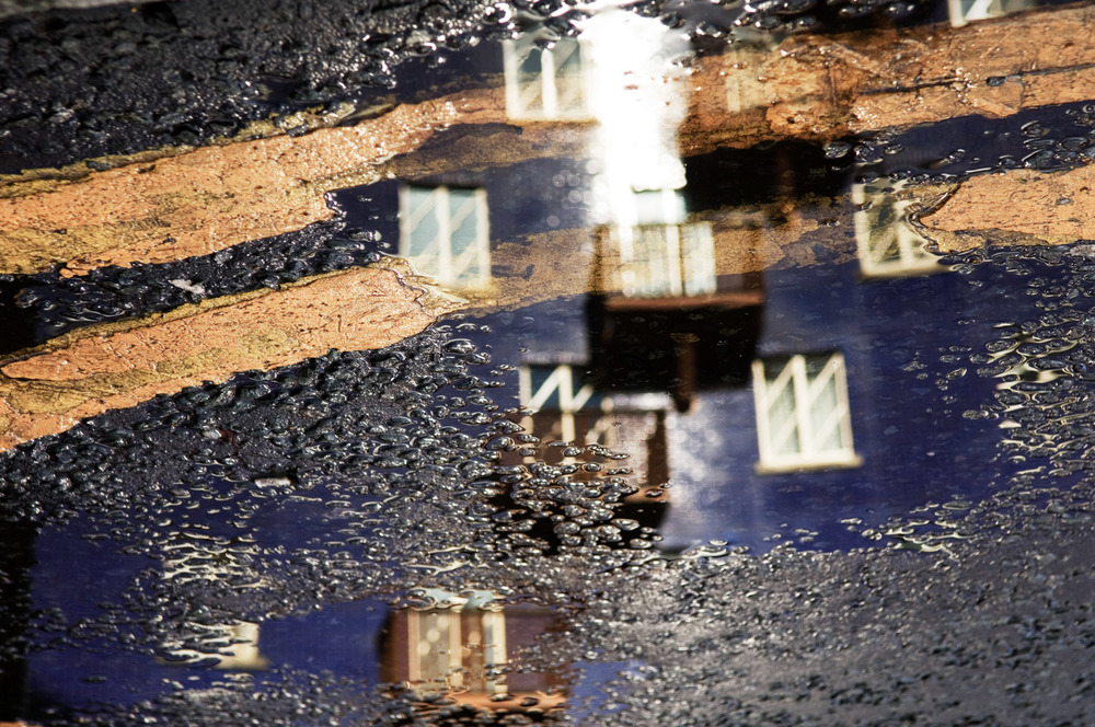 The Circle - Reflection in Puddle 02