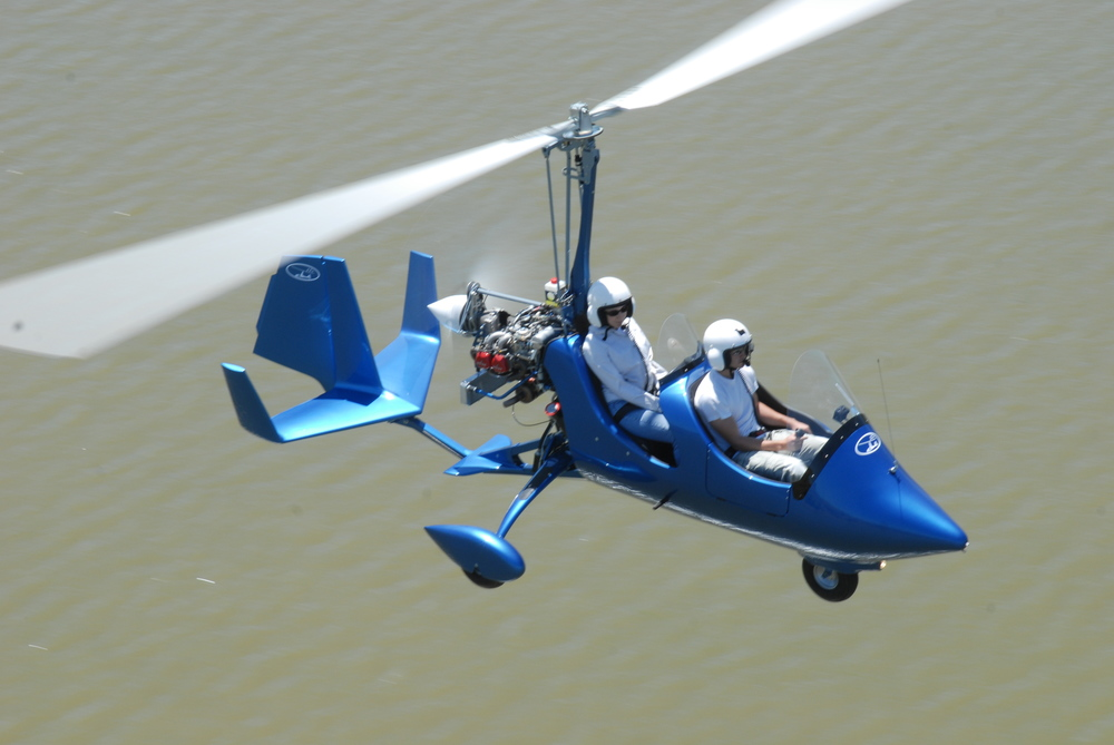 gyrocopter autogiro blue river
