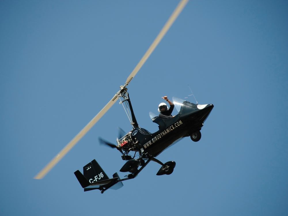 gyrocopter girodynamics volando