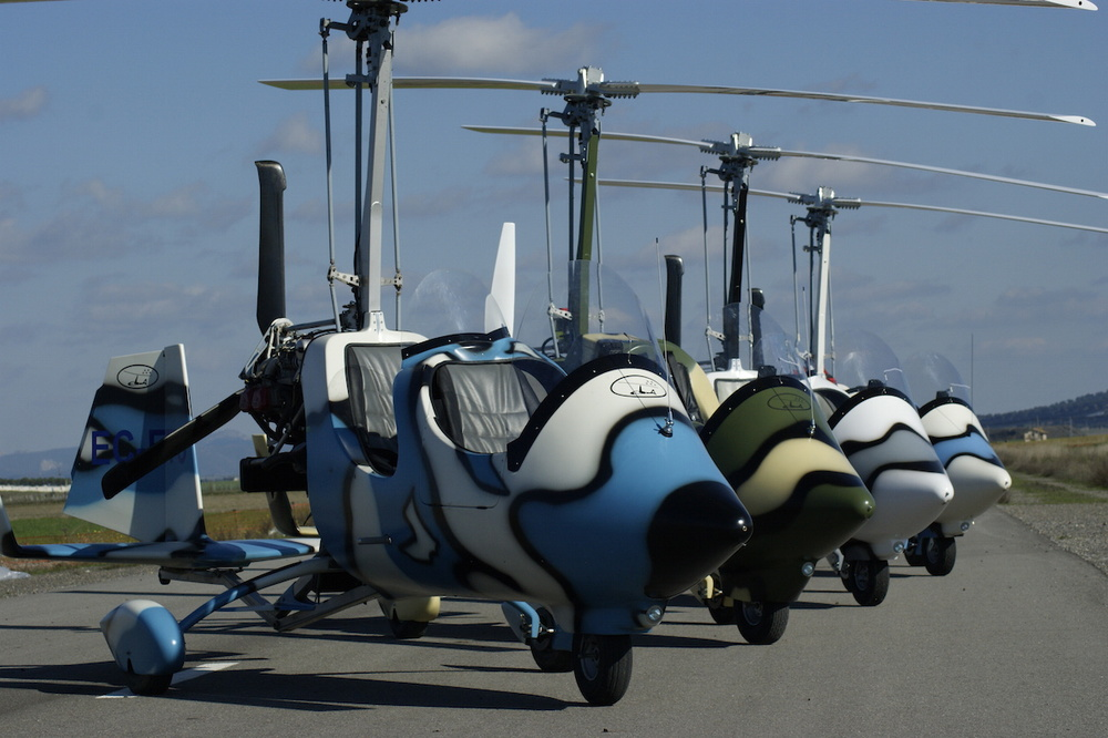 gyrocopter autogiro camouflage